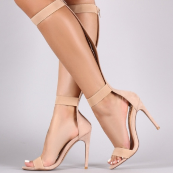 9ef2904a400 Liliana Stiletto Gladiator Heels